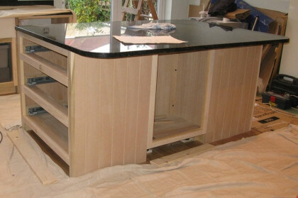 Tulip wood/MDF kitchen painting Hampshire